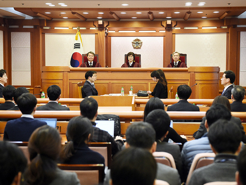 south koreas constitutional court The constitutional court of korea is an independent and specialised court in south korea, whose primary role is the reviewing of constitutionality under the.