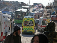 Красный Крест возобновил эвакуацию из Алеппо
