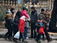 Из Алеппо за сутки вывели 5992 мирных жителя и 366 боевиков