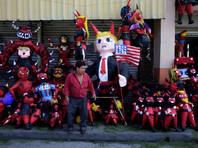 Церемония сожжения дьявола, напоминает CNN - одно из самых ожидаемых событий года в стране, она является частью праздника Непорочного Зачатия, который отмечается 7 декабря. Местные жители поджигают огромные пиньяты - куклы, сделанные из бросовых и мусорных материалов, чтобы осветить путь религиозной церемонии