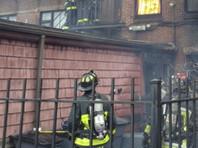 Пожар высшей степени сложности охватил несколько зданий в Бостоне (ВИДЕО)