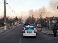 В Болгарии сход грузового поезда с рельсов и последующий взрыв привели к гибели нескольких человек