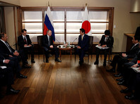 Путин обсудил с Абэ возможность заключения мирного договора