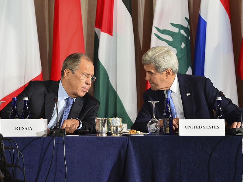 Керри в Риме высказал Лаврову озабоченность атаками на мирных жителей Алеппо