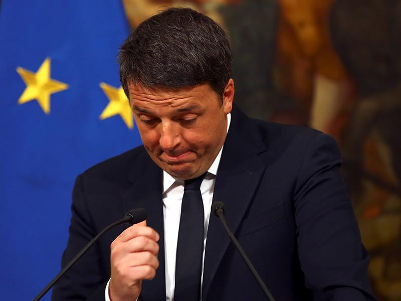 Итальянцы отвергли предложение о реформе конституции, Маттео Ренци анонсировал свою отставку