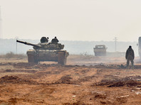 По данным Центра, воспользовавшись перемирием, с рассветом боевики перегруппировались и возобновили боевые действия, пытаясь прорвать позиции сирийских войск в северо-западном направлении. Атака террористов отбита