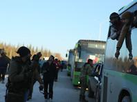 Эвакуация из Восточного Алеппо приостановлена из-за обстрела автоколонны, Минобороны объявило о завершении операции