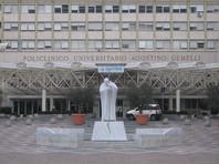 Ученый был доставлен в находящуюся в итальянской столице клинику Джемелли. Это медицинское учреждение, которое, как отмечают журналисты, считается одним из лучших госпиталей в Риме
