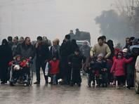В Сирии достигнута новая договоренность об эвакуации мирных жителей