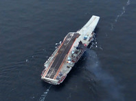 """Источник назвал три версии причин падения Су-33 с """"Адмирала Кузнецова"""" в Средиземном море"""