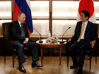 Абэ сообщил об откровенной беседе с Путиным о Курилах