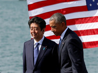 Премьер Японии на встрече с Обамой выразил соболезнования в связи с бомбардировкой Перл-Харбора