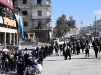 Сирийская армия приостановила боевые действия в Алеппо из-за крупнейшей гуманитарной операции