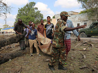В столице Сомали террорист-смертник подорвал заминированный автомобиль: убиты 29 человек