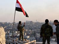 Сирийская армия после массированного обстрела отвоевала еще один район восточного Алеппо