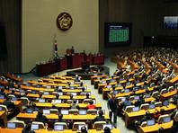 Парламент Южной Кореи назначил дату голосования по импичменту президента