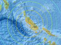 У берегов Папуа - Новой Гвинеи произошло землетрясение магнитудой 7,9