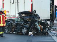На трассе в Германии столкнулись 11 автомобилей: минимум шесть человек погибли
