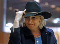"""Марин Ле Пен заметили в небоскребе """"Трамп-тауэр"""" в Нью-Йорке"""