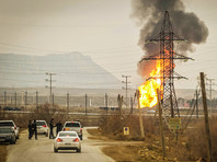 В Баку второй раз за неделю взорвался газопровод