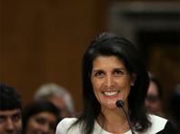 Сенат США утвердил Никки Хейли на пост представителя США при ООН