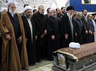 """Бывшего президента Ирана похоронили под крики """"Смерть России!"""" (ВИДЕО)"""
