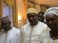 """На минувшей неделе новый президент Бэрроу объявил, что """"президентство Джамме официально завершено и Гамбия вступает в новую эру"""""""