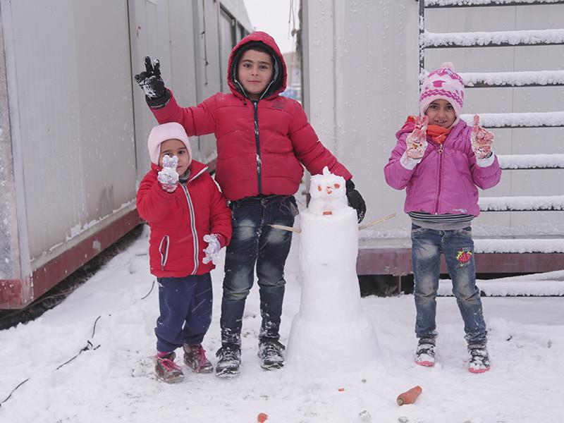 Евросоюз намерен финансировать строительство лагерей для беженцев в Белоруссии