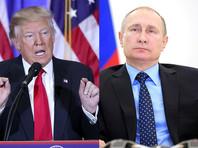 """33% респондентов считают отношения между Трампом и президентом РФ Владимиром Путины """"слишком дружескими"""", а 34% опрошенных не назвали бы их дружественными"""