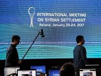 В Астане начинаются сирийские переговоры без определенного формата