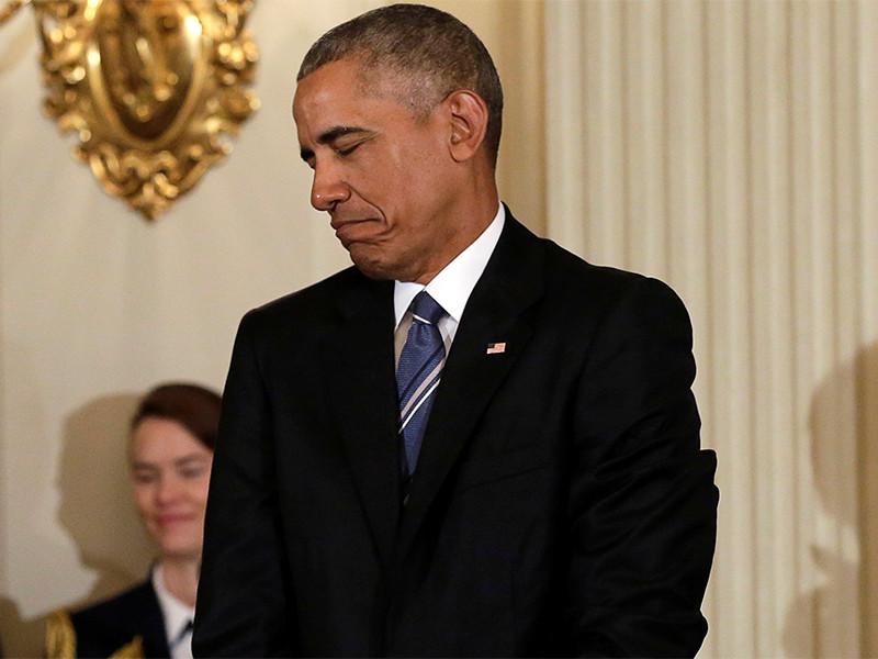 """Обама продлил на год """"украинские"""" санкции против России"""