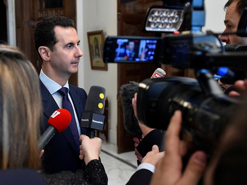 Президент Сирии Башар Асад заявил, что готов обсуждать любые вопросы на грядущей конференции по урегулированию ситуации в Сирии