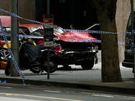 Водитель, наехавший на пешеходов в Мельбурне, передан полиции для допроса