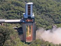 В апреле минувшего года Ким Чен Ын лично руководил наземным испытанием двигателя нового типа ракеты на космодроме Сохэ