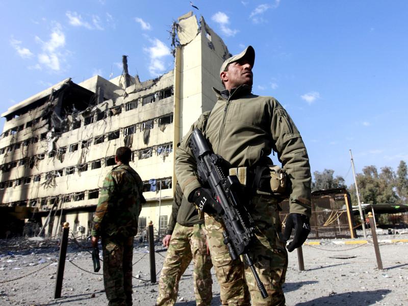 Армия Ирака впервые за время операции в Мосуле вышла к берегу реки Тигр