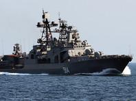 Россия и Япония проводят совместные морские учения