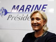 Марин Ле Пен займет средства на свою президентскую кампанию у отца, узнало Bloomberg