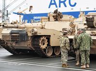 В Польшу через Германию поступили первые танки, бронемашины и военные из США