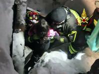 В Италии завершена поисковая операция в погребенном под лавиной отеле Rigopiano