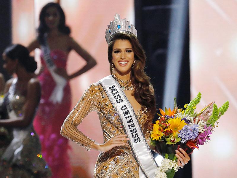 """Победительницей конкурса """"Мисс Вселенная"""" стала 24-летняя француженка, обладательница титула """"Мисс Франция"""" Ирис Миттенар"""