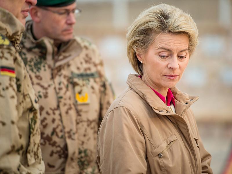 "Европейцы, отметила фон дер Ляйен, требуют ""уважения суверенитета и границ других стран"""