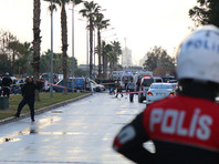 В третьем по величине городе Турции Измире прогремел взрыв неподалеку от здания местного суда