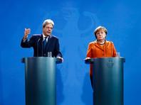 Вопрос возможного участия РФ в саммите обсуждался накануне в Берлине на встрече главы совета министров Италии Паоло Джентиллони и канцлера Германии Ангелы Меркель