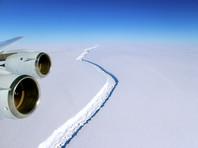 Глобальное потепление: от Антарктики скоро отколется крупный айсберг, а сибирские города могут быть разрушены