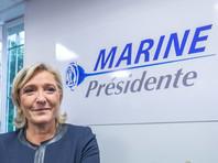 Марин Ле Пен могут запретить въезд на Украину после ее слов о законности аннексии Крыма