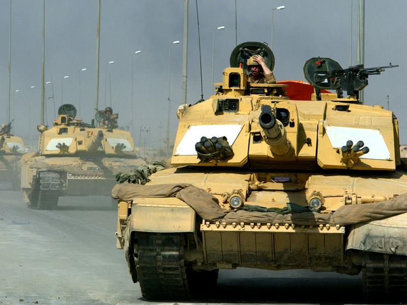 Руководство вооруженных сил Великобритании осуществило переправку танка FV4030/4 Challenger, боевых машин пехоты Warrior и ремонтно-эвакуационных машин во Францию через туннель под проливом Ла-Манш