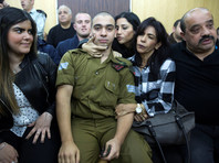 В Израиле военный суд признал сержанта виновным в убийстве раненого палестинца, напавшего на его сослуживцев