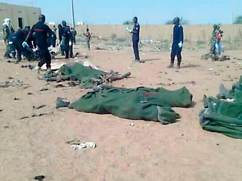В Мали террорист-смертник подорвал автомобиль в военном лагере: 50 человек погибли