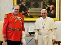 Великий магистр Мальтийского ордена ушел в отставку из-за конфликта с Ватиканом по поводу презервативов