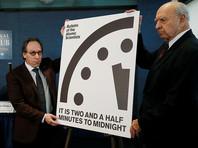 """""""Часы Судного дня"""" перевели на 30 секунд ближе к апокалипсису из-за заявлений Трампа"""